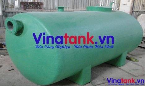 Thiết kế các loại bồn chứa hóa chất theo yêu cầu