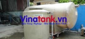 Vật liệu composite sản xuất bồn chứa hóa chất