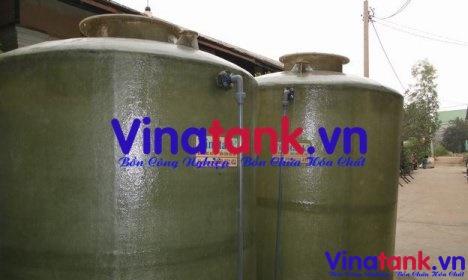 bồn chứa hóa chất, bon chua hoa chat, bồn composite frp chứa hóa chất