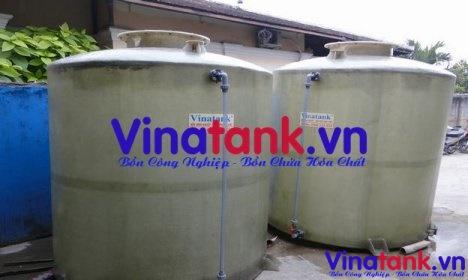 bể chứa hóa chất, bon chua hoa chat, bồn bể composite chứa hóa chất