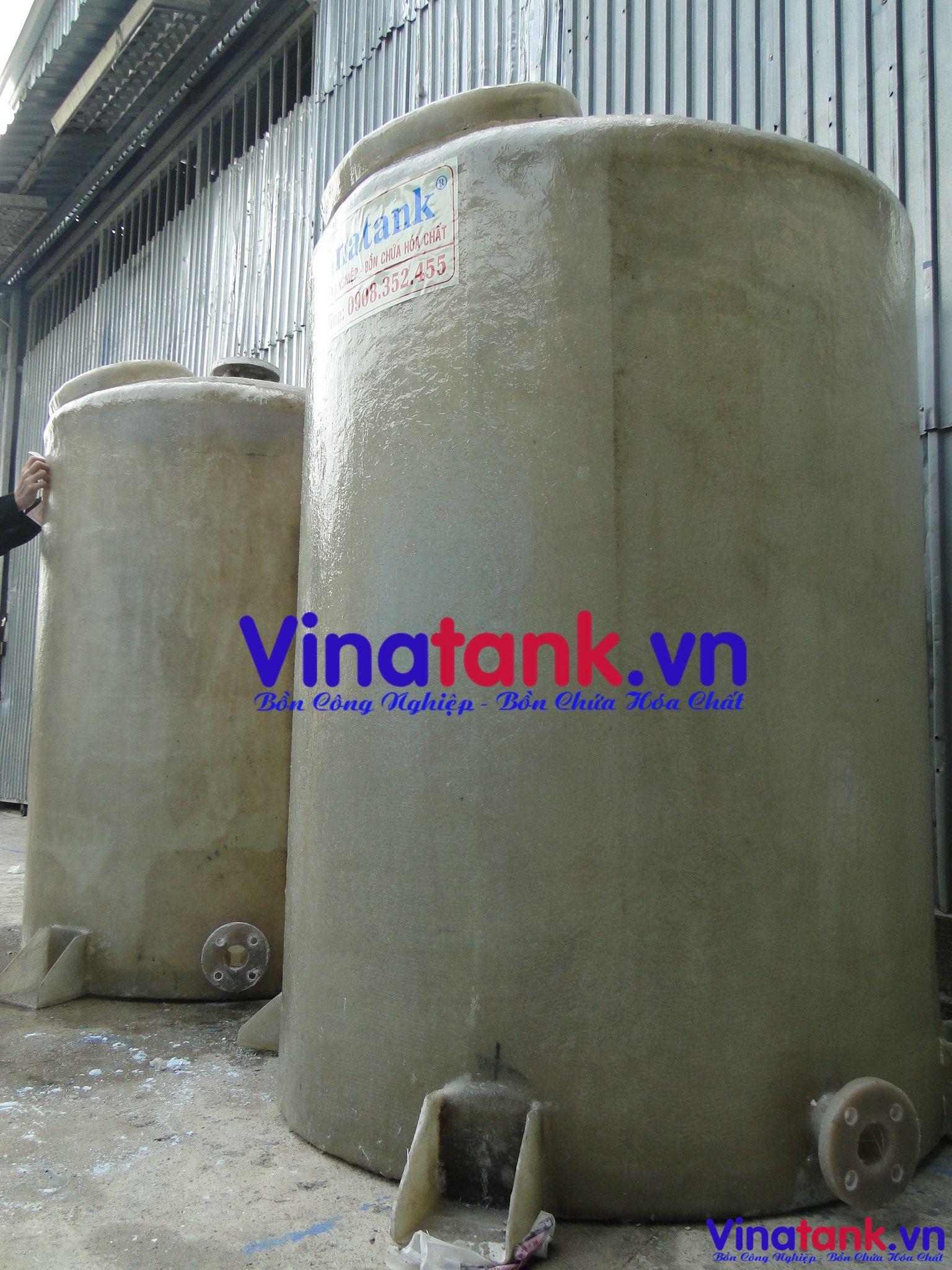 bồn frp chứa hóa chất, bon composite chua hoa chat, bồn chứa hóa chất