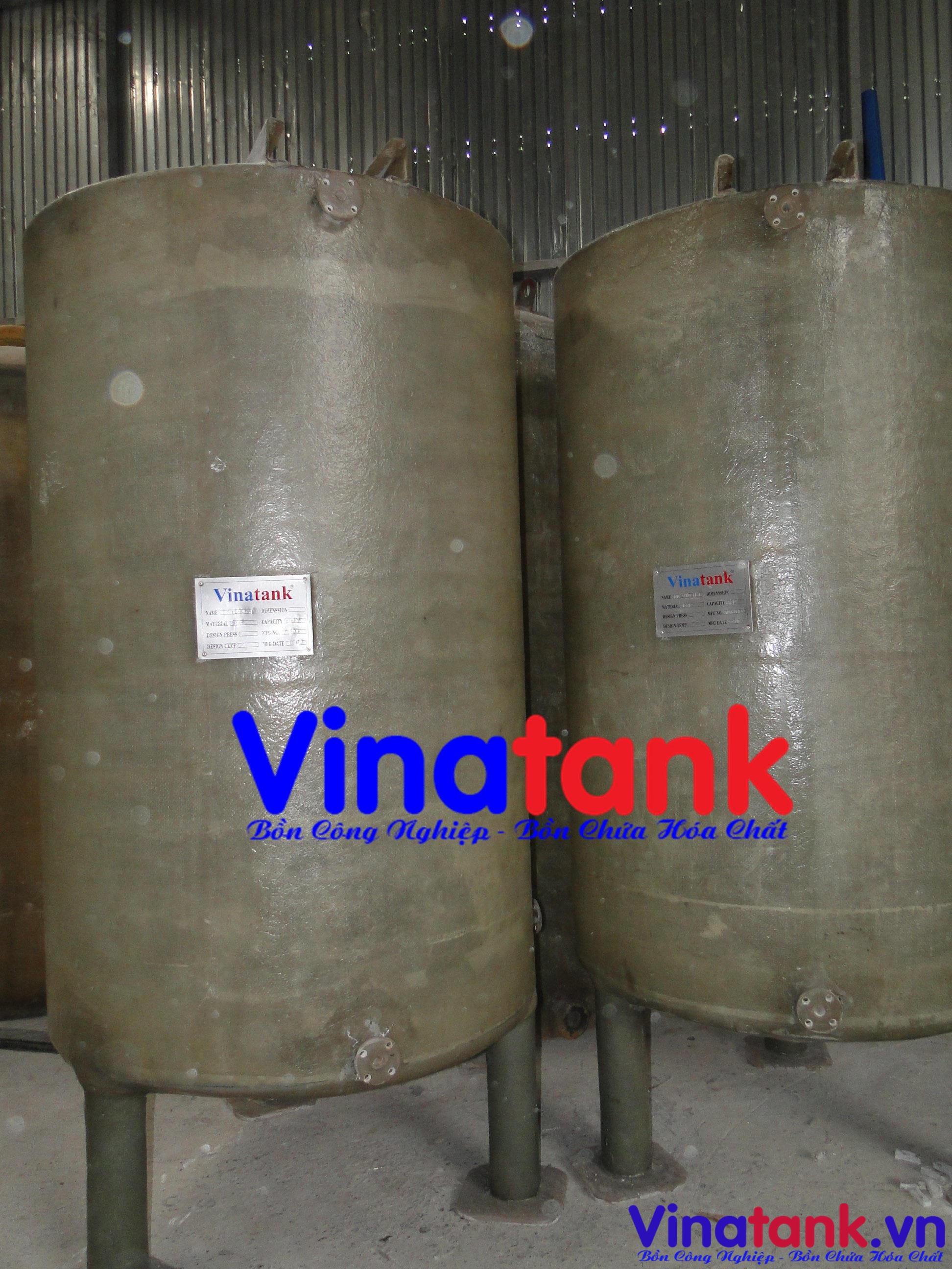 bồn composite frp chứa hóa chất, bồn chứa hóa chất, bồn composite chứa hóa chất, bon frp chua hoa chat