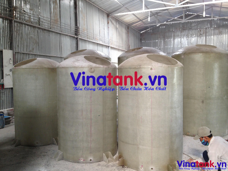 bể chứa hóa chất, bồn composite chứa hóa chất