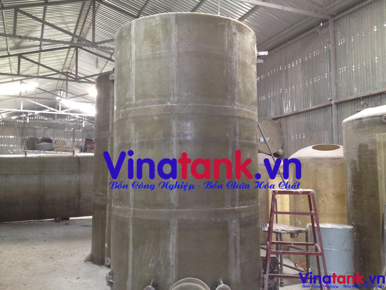 bồn bể chứa hóa chất, bồn composite chứa hóa chất, bon frp chua hoa chat, bồn xử lý nước thải